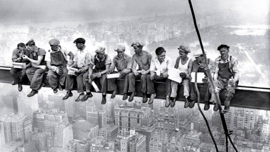 Lunch Atop a Skyscraper | 1932